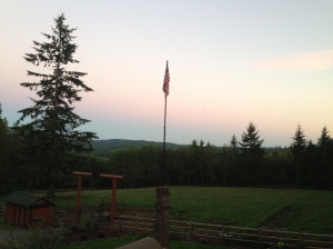 evening at the ranch